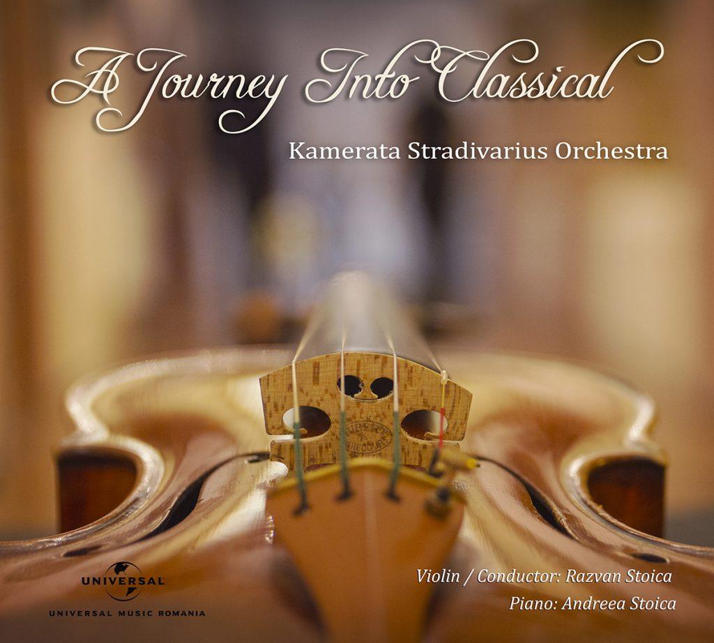 A journey into classical (Album cover)